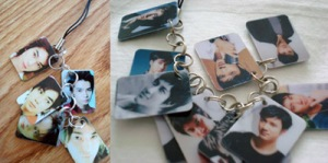 The left is Matsujun keychain that my friend gave to me when she went to HK. The right is Lee Hom and its twice as long.